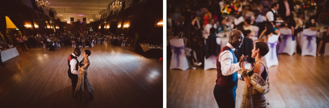 First dance photograph at Porchester Hall wedding
