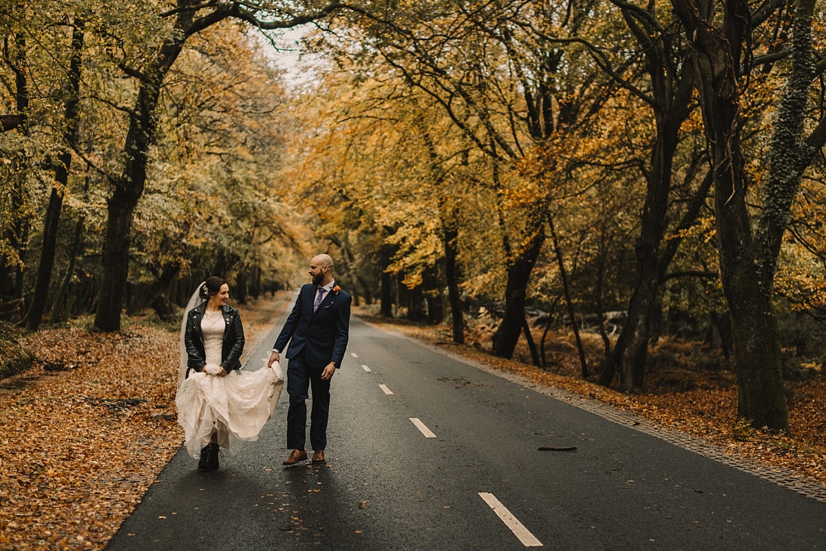 wedding photo by Matt Lee, New Forest photographer