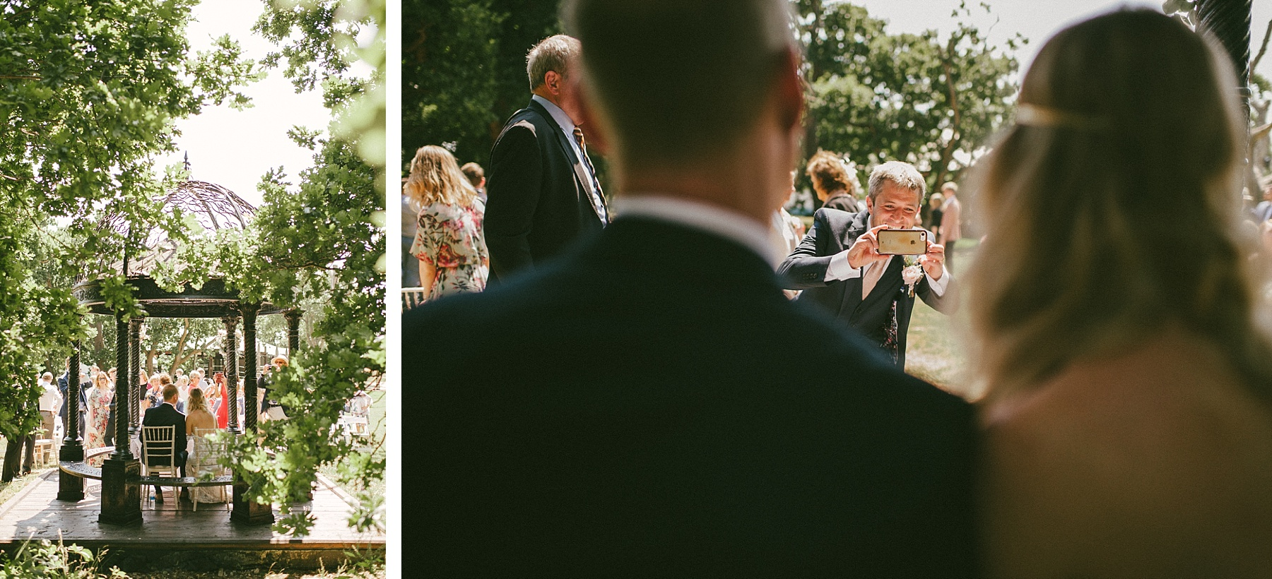 Summer estate wedding