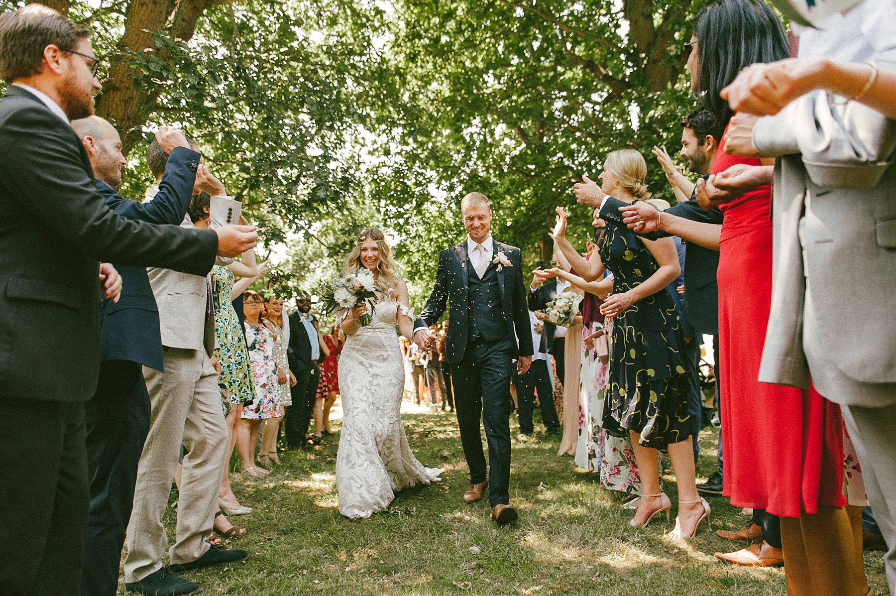 Summer estate wedding