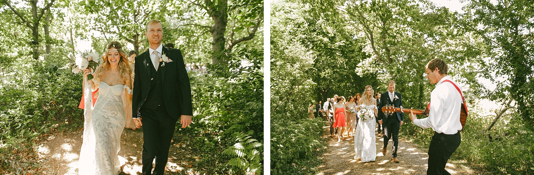 Summer wedding Turnbury Woods