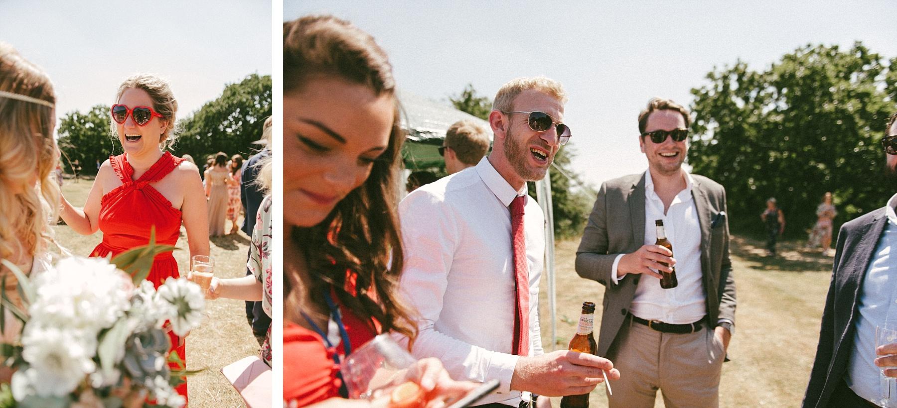 Summer wedding Turnbury Woods