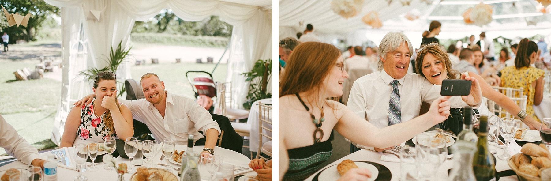 Outdoor wedding England