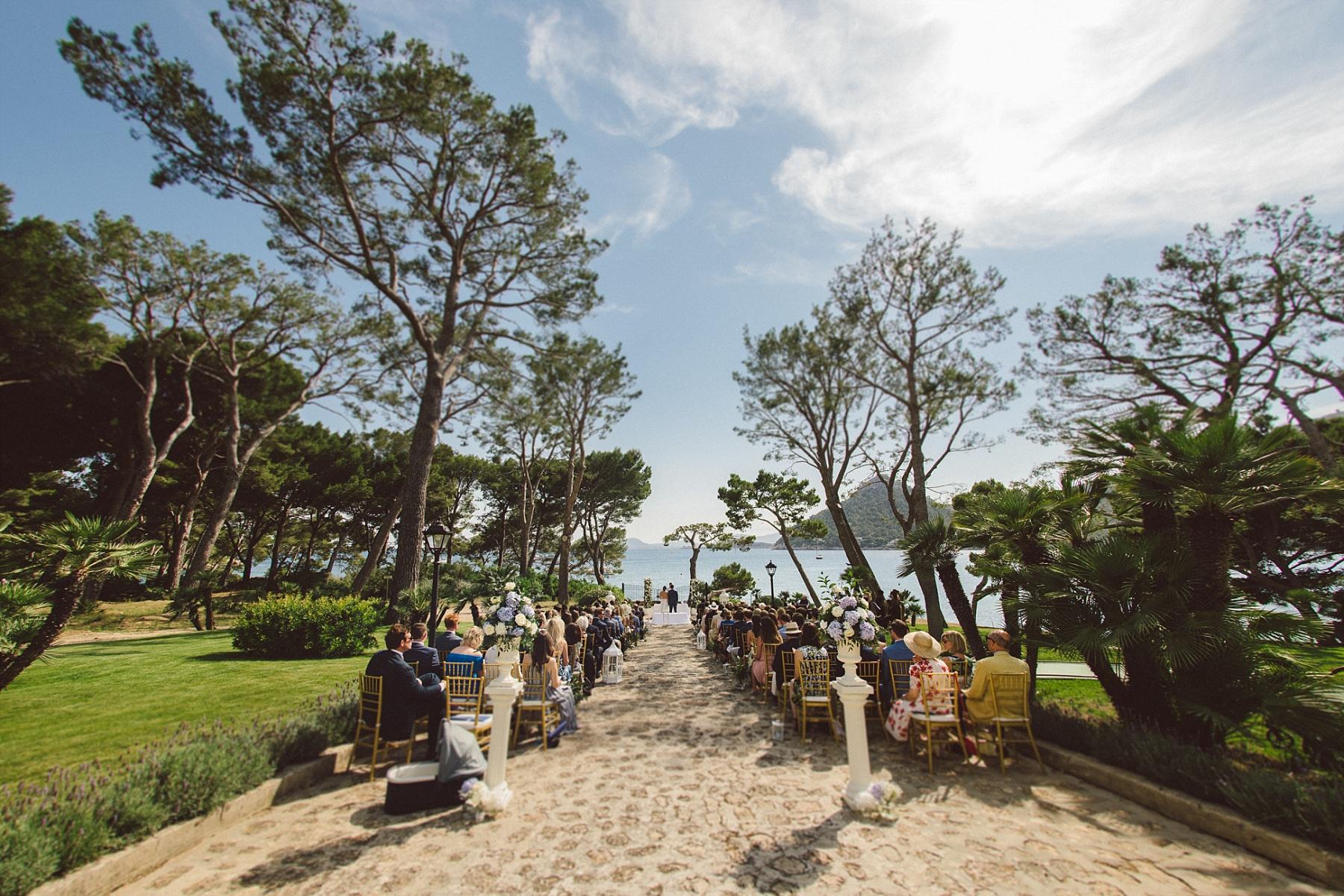 Formentor wedding