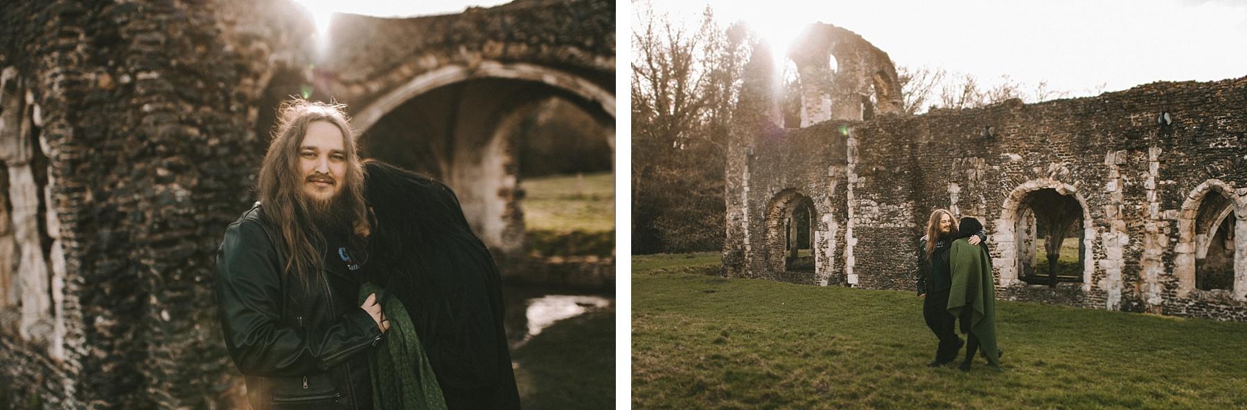 weddin photo by Farnham photographer