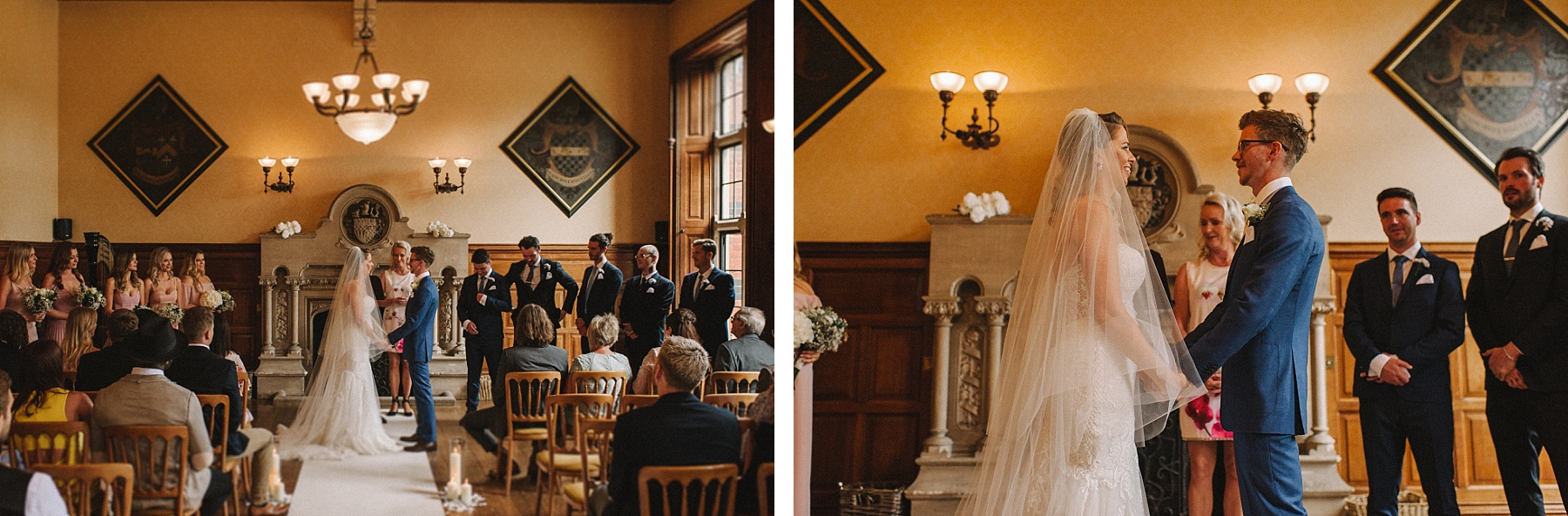 the ceremony at The Elvetham hotel wedding
