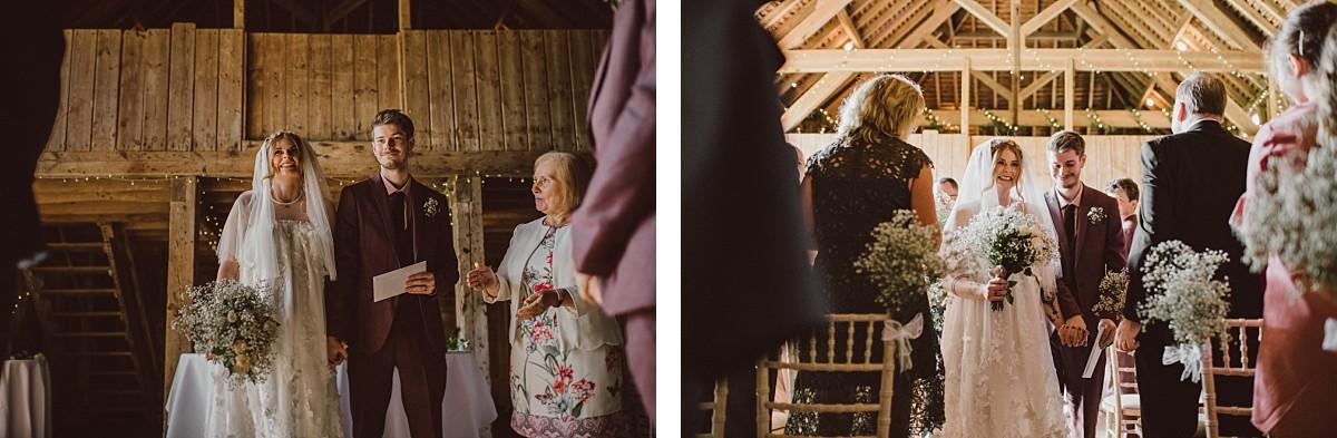 bridal squad at Stokes Farm Barn