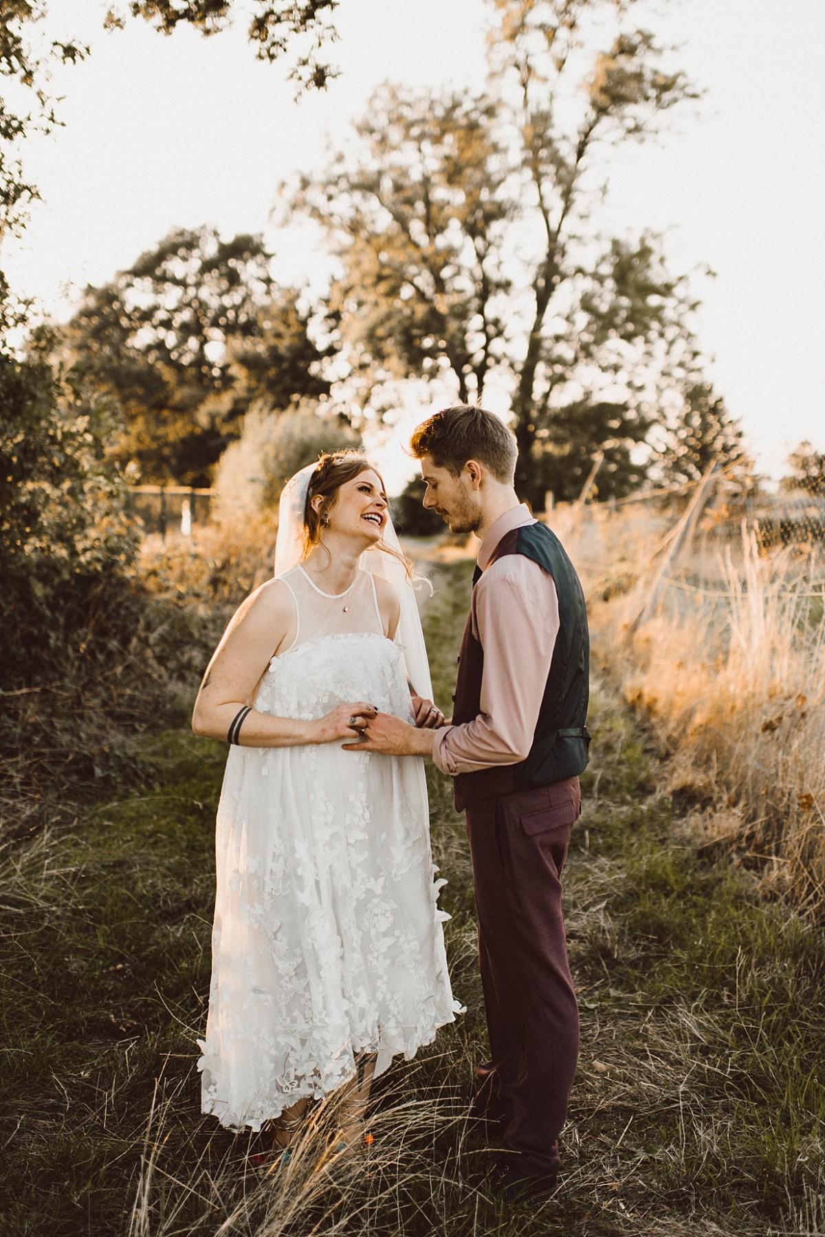 rustic wedding venue in Berkshire