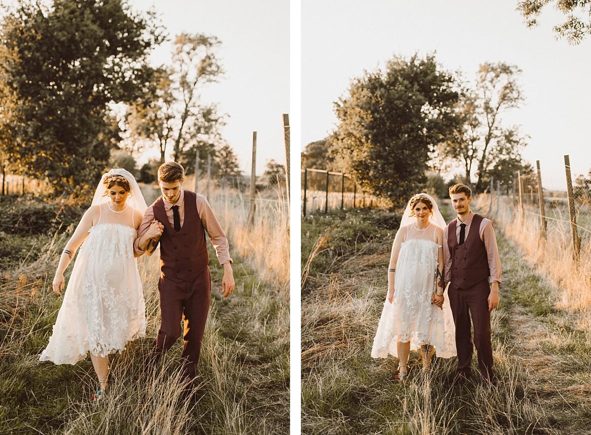 bride & groom at Berkshire wedding venue