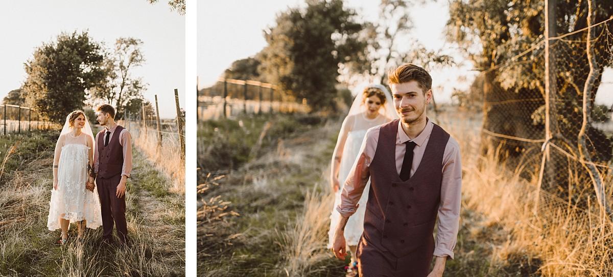 cool groom at Stokes Farm Barn