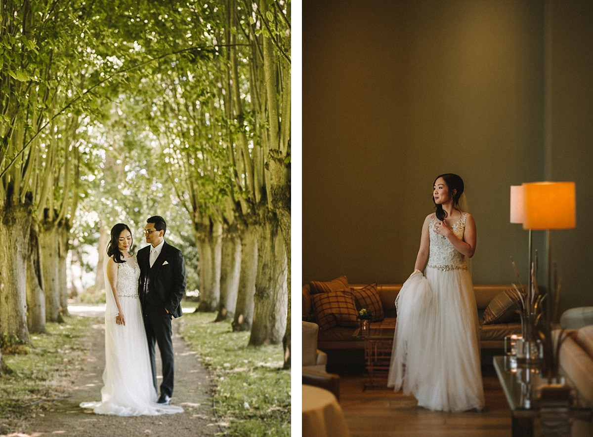 Coworth Park by Berkshire wedding photographer