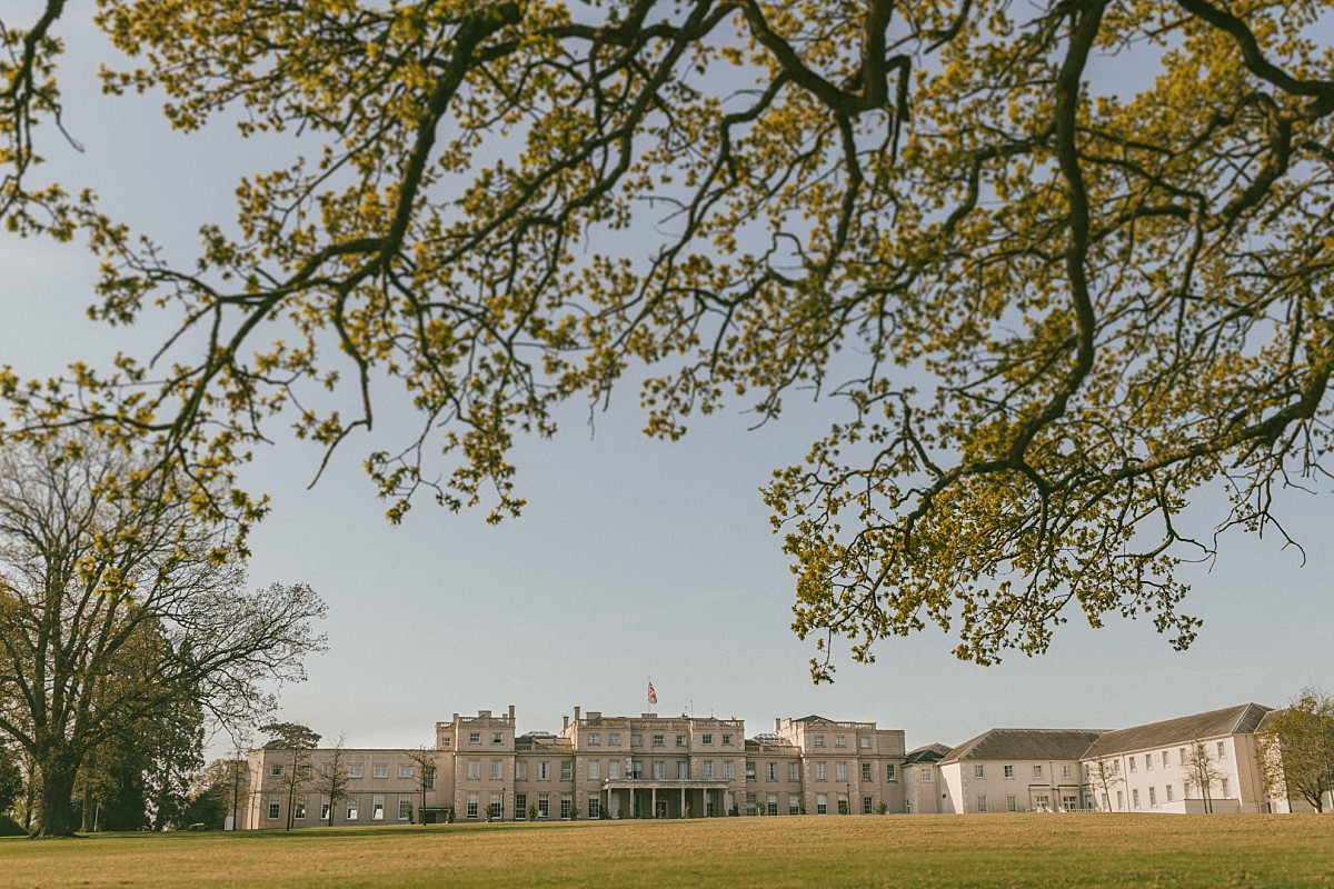 Photograph of Wokefield Estate by Berkshire wedding photographer