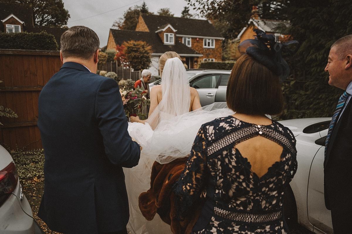 Brideleavesforwedding