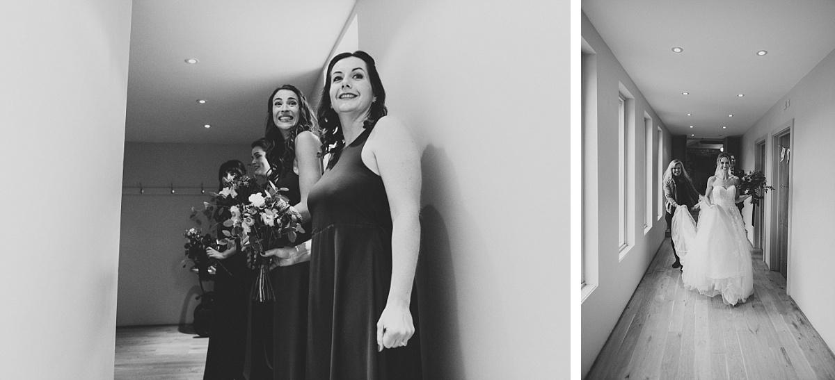 black & white photos of wedding ceremony