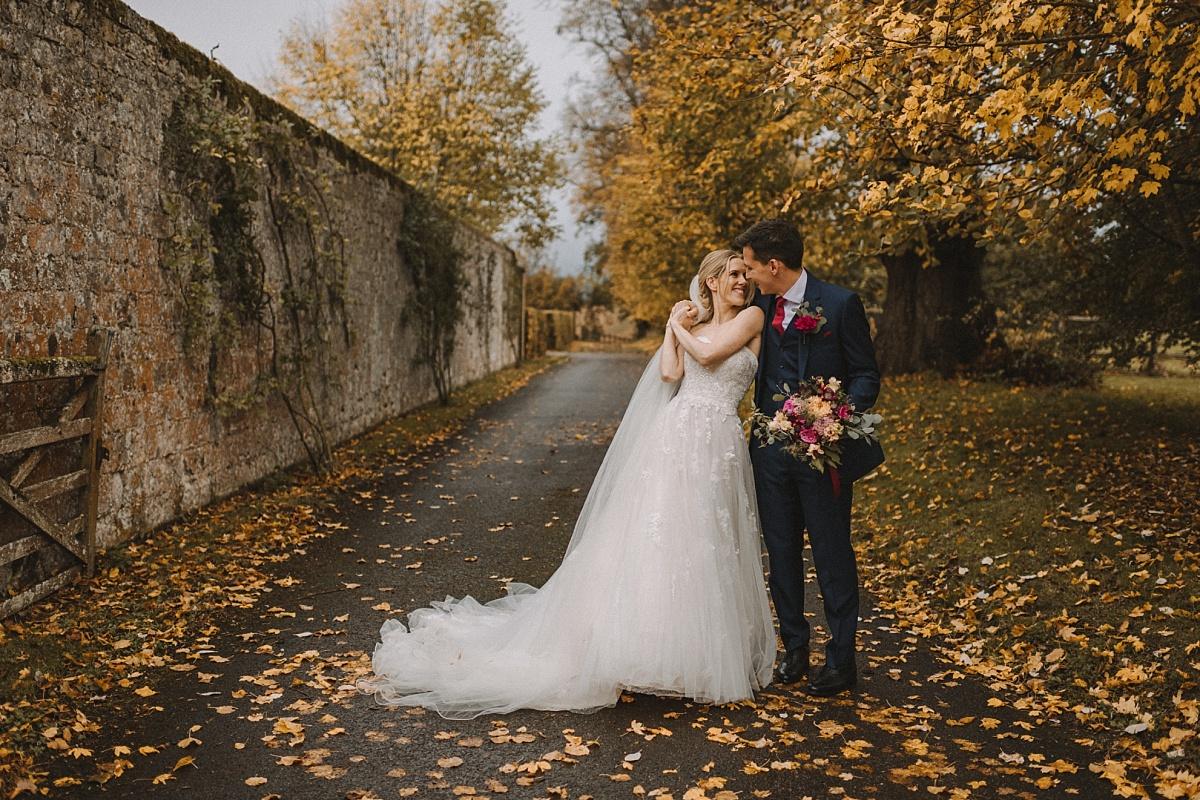 Wedding photography at Bury Court Barn