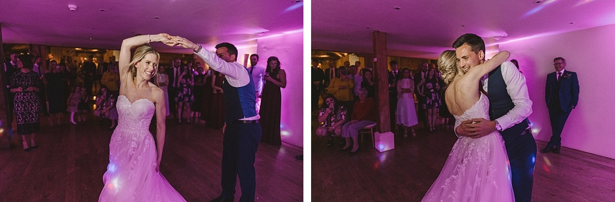 First dance photography by Matt Lee