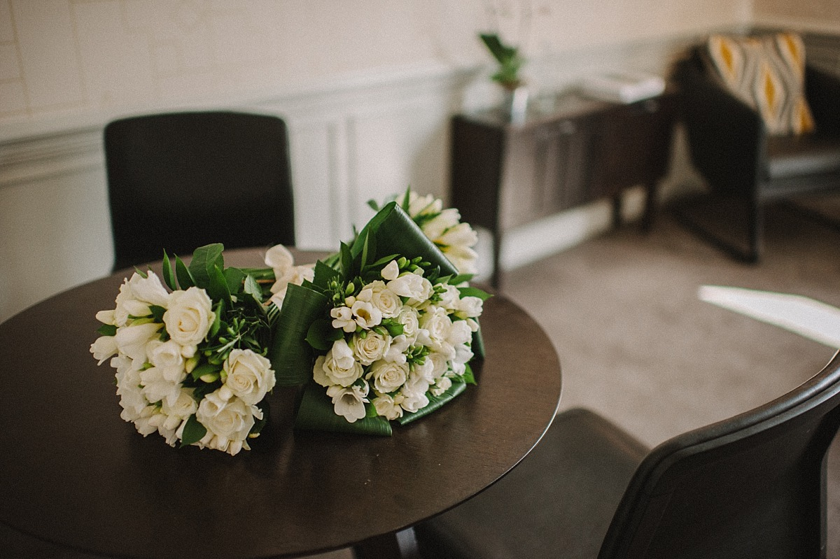 Photo of wedding flowers by Chelsea Wedding Photographer