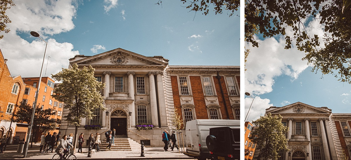 Evterior Photo of Chelsea Town Hall on sunny day