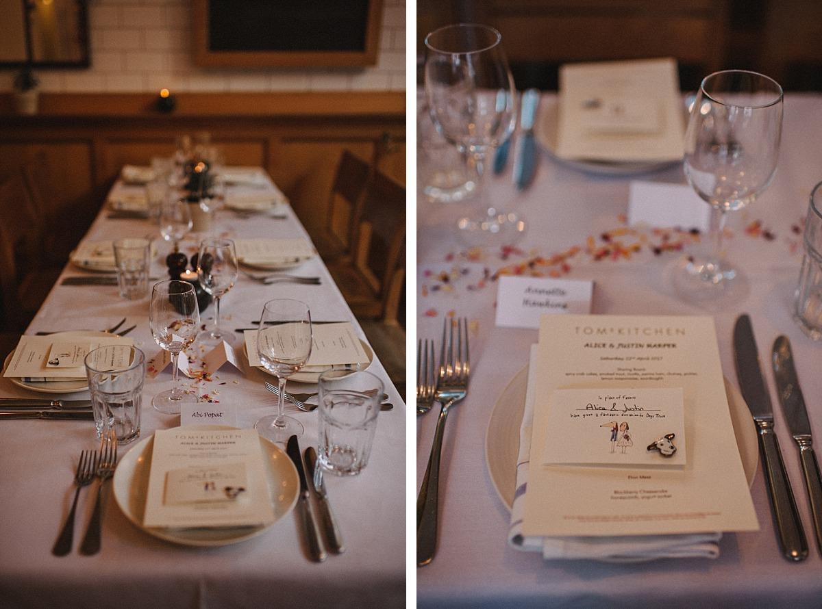 Toms Kitchen wedding by Matt Lee, London wedding photographer