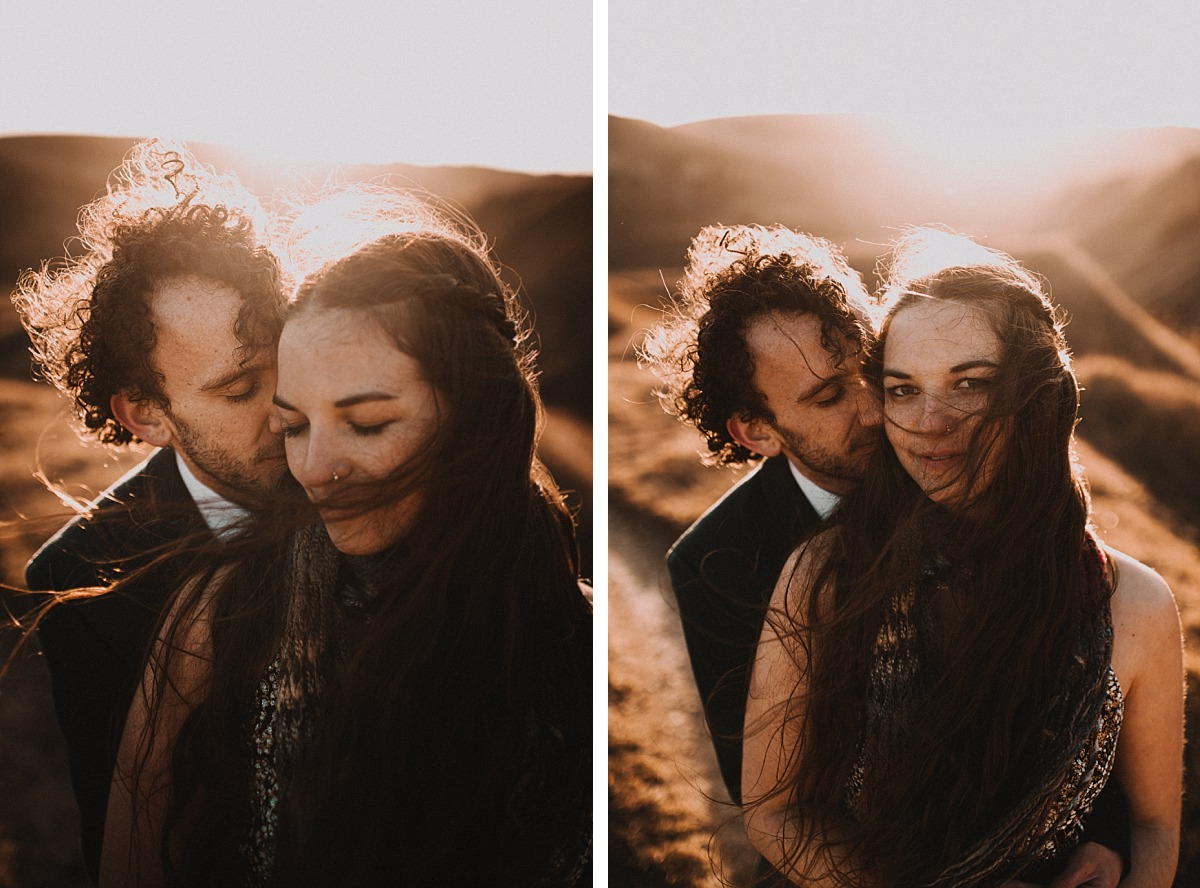 Amazing sunrise photo shoot by Matt Lee, Cotswolds Wedding Photographer