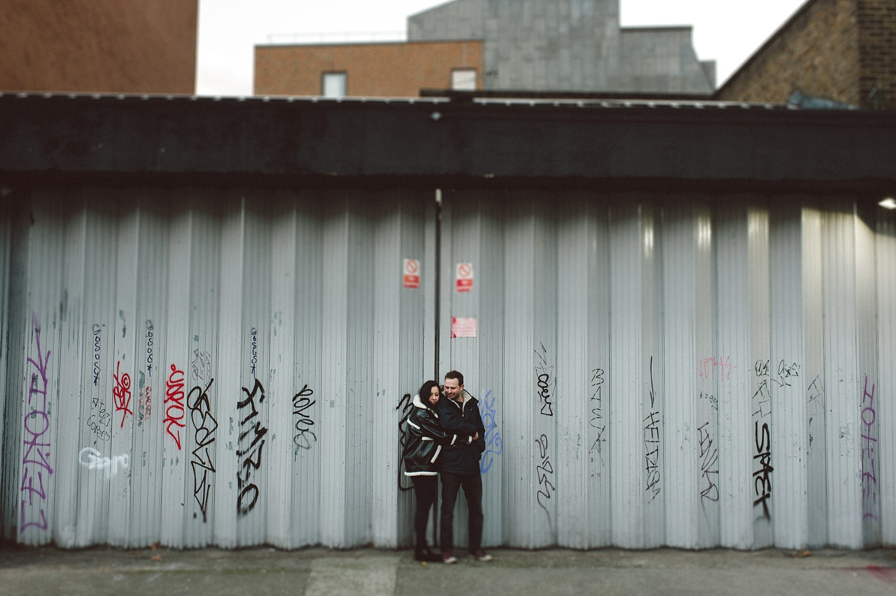Couples photo shoot in London by Matt Lee