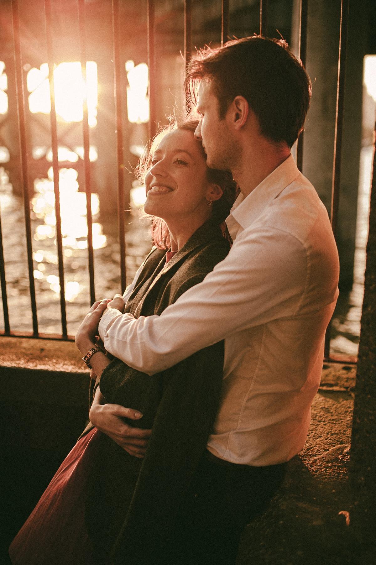 Sunset Engagement shoot by Matt Lee Photography