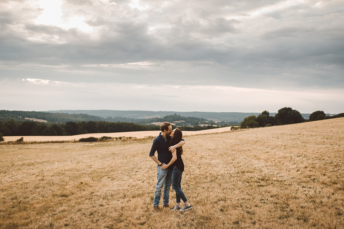 couple in Guildford in Surrey