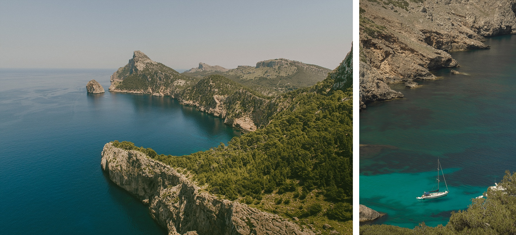 Formentor landscape by Mallorca wedding photographer