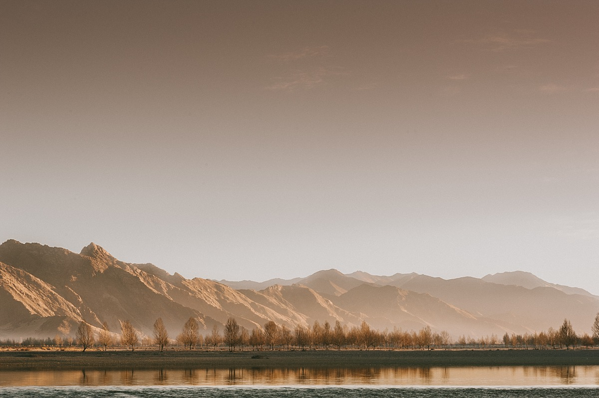Landscape photography in Tibet