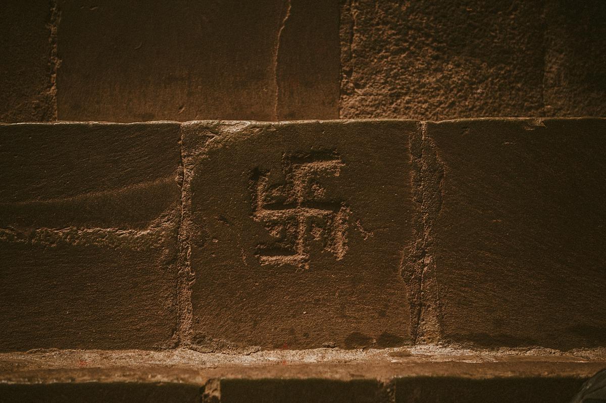 Swastika in Tibet