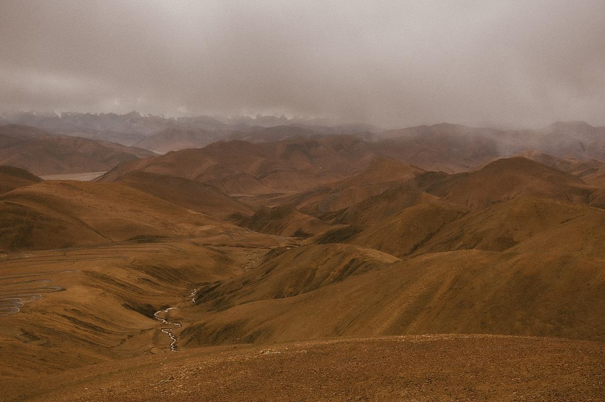 View across the Himalayas