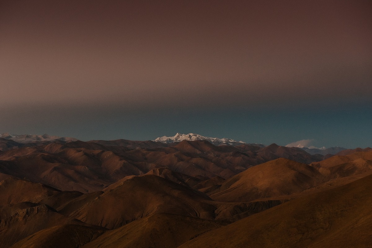 Earlymorning photo of the Himalayers