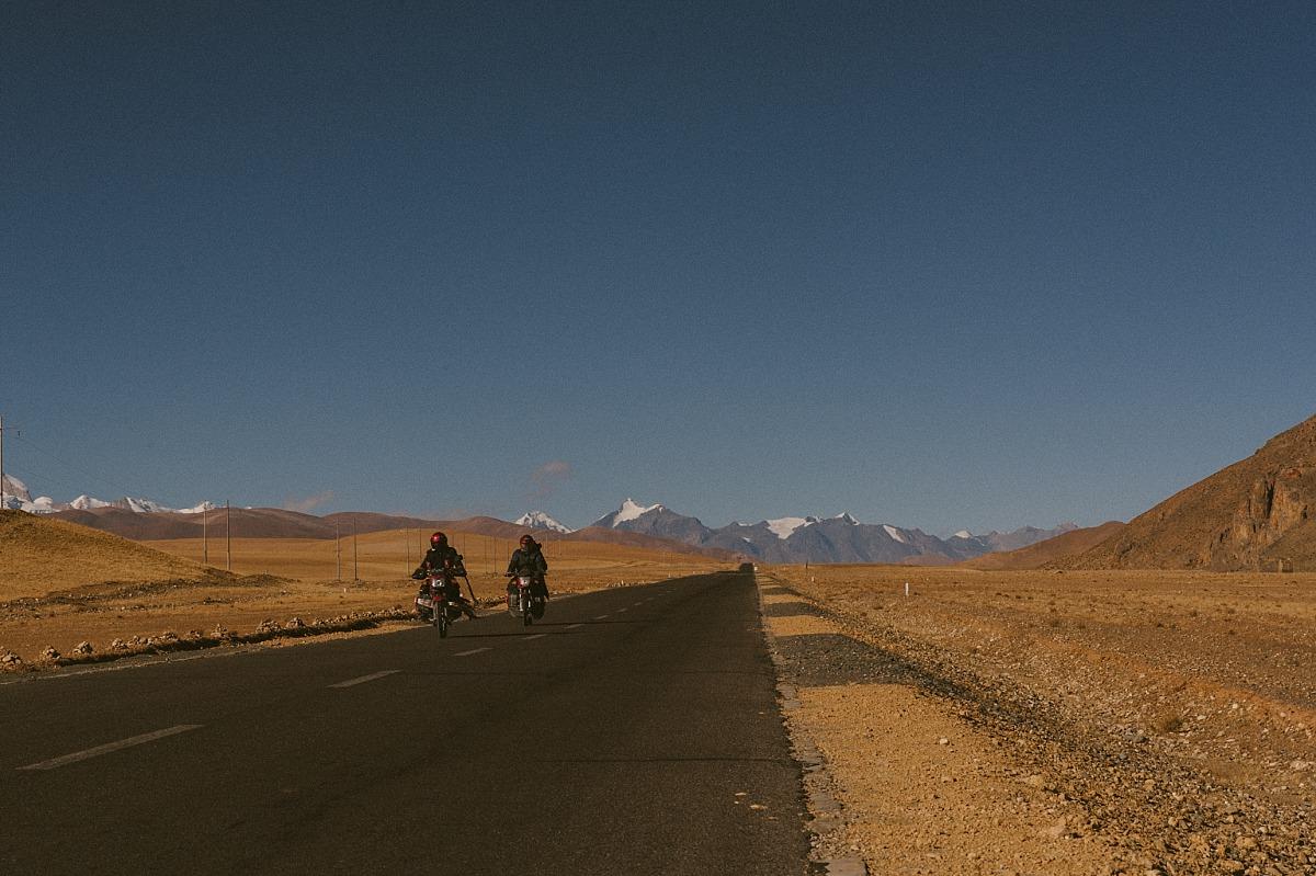 motorbiking across China