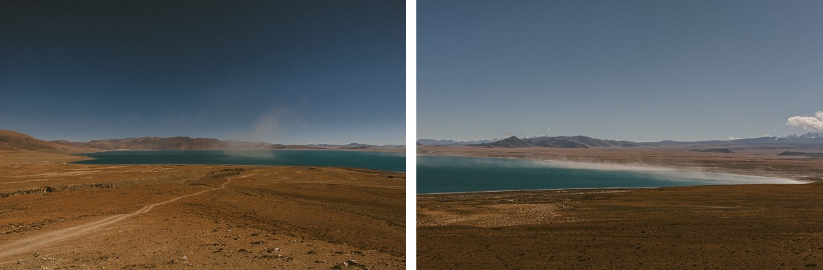 Travelling in Tibet, photo of plains across Tibet
