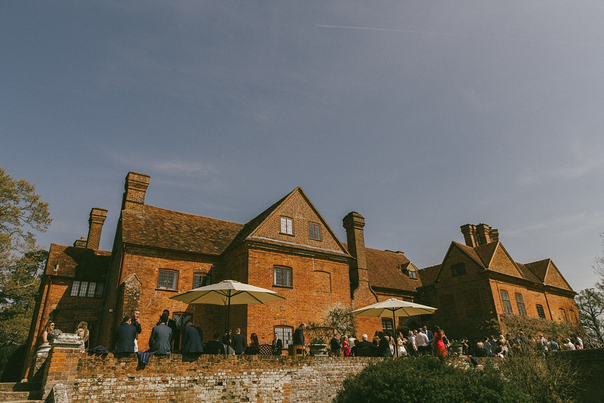 Exterior photo of rear of Ufton Court