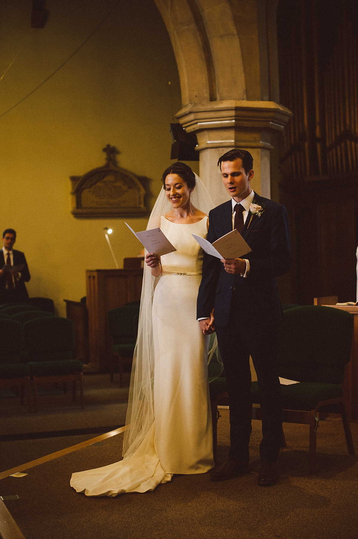 photo of wedding in church