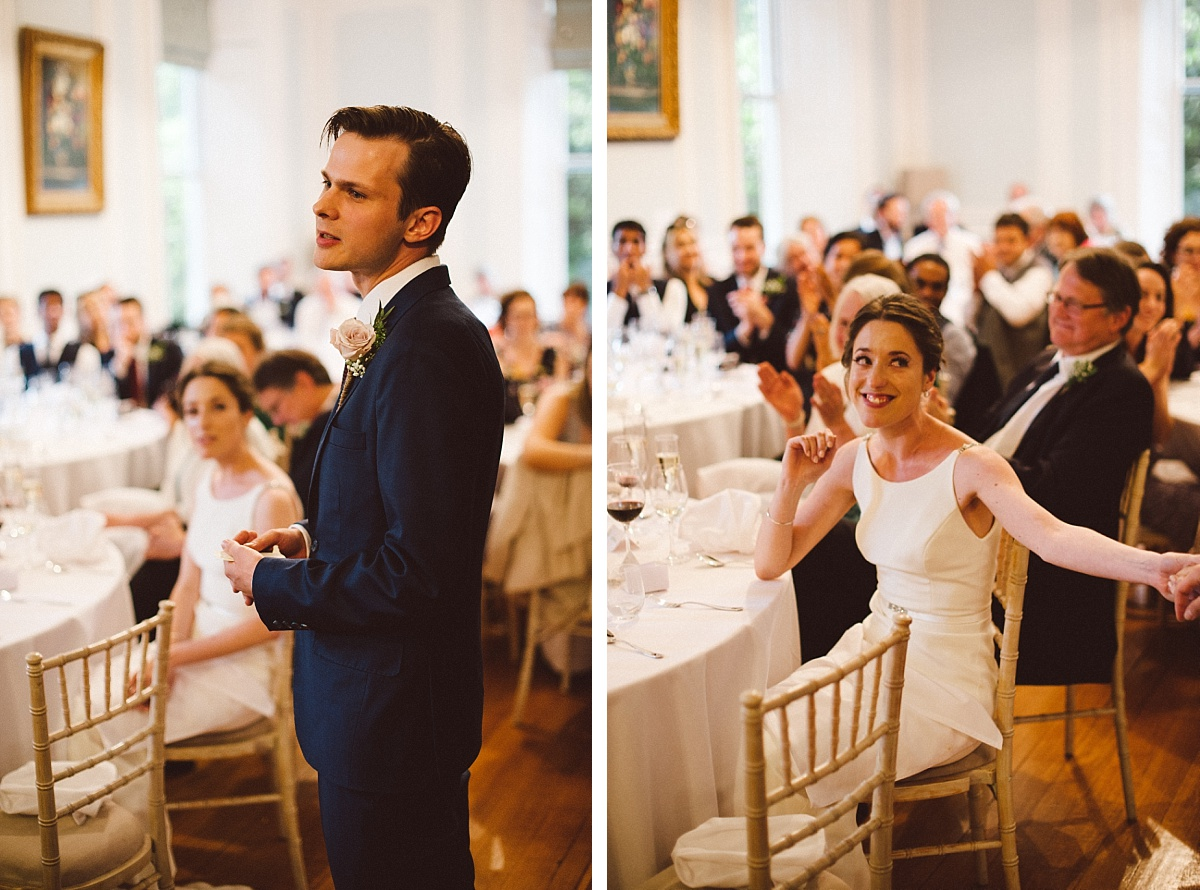 speech by groom at Rownhams House