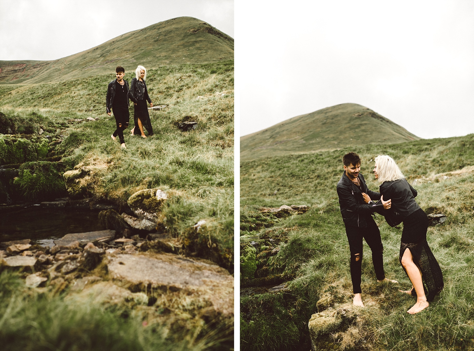 South Wales wedding photographer engagement photos
