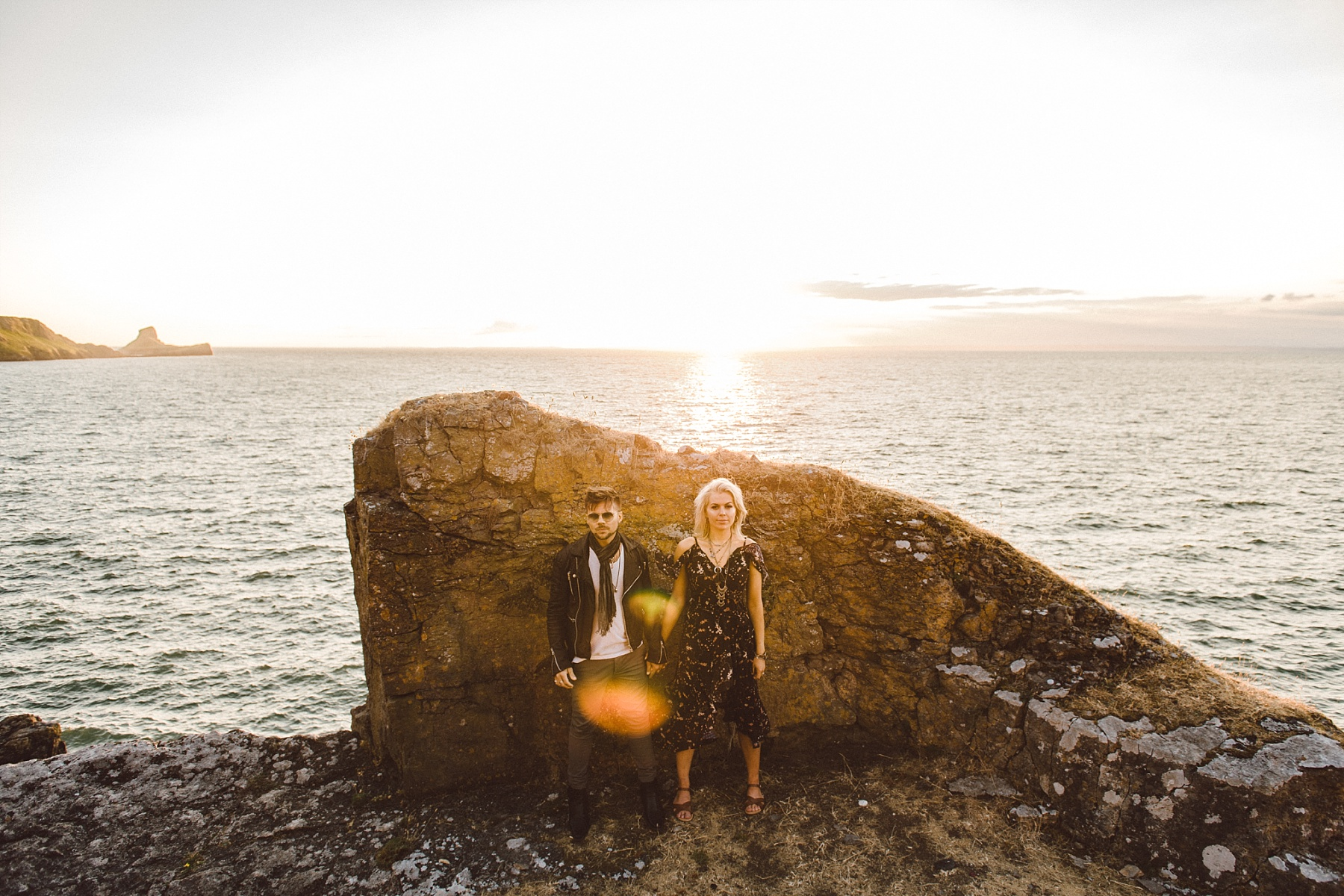 Engagement photography by South Wales wedding photographer