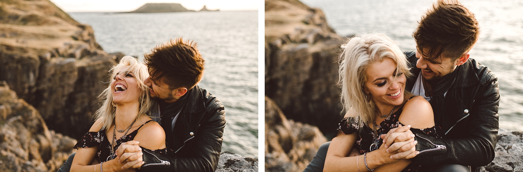 Engagement shoot photography by South Wales wedding photographer